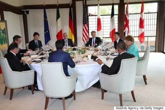 Justin Trudeau Pushes G7 On 'No Ransom'