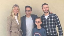 'Avengers' Stars Surprise Teen Battling Second Round Of