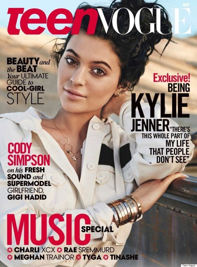 Kylie Jenner Is Boho Chic On The Cover Of Teen