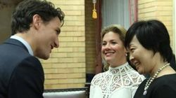 Sophie Grégoire Trudeau Is A Vision In White For Day 2 In