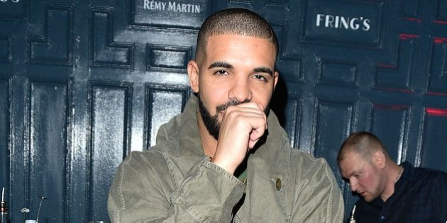 TORONTO, ON - SEPTEMBER 21: Drake attends the Grand Opening Of Fring's Restaurant Toronto on September...