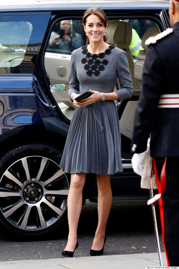 Kate Middleton Repeats Orla Kiely Dress For Charity