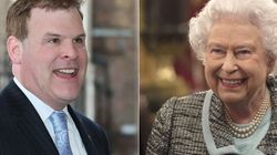 Baird Greets Queen As 'Foreign Affairs