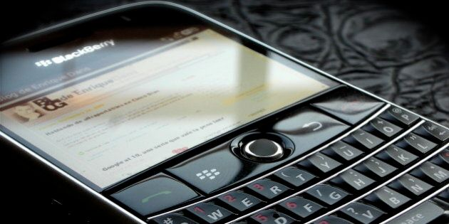 Sony Hack: BlackBerrys To The