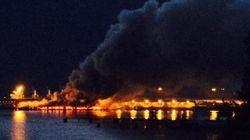 Squamish Dock Fire Spews Noxious