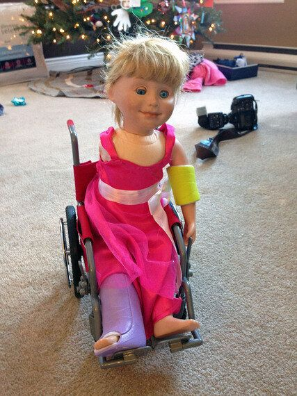 A One-Armed Doll Taught My Daughter About