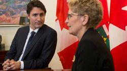 Trudeau Pledges Help For Ontario Pension
