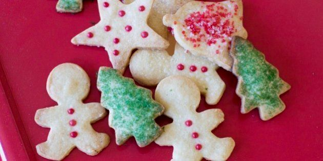 This Nov. 3, 2014 photo shows foolproof holiday butter cookies in Concord, N.H. When it comes to holiday cookies, everything depends on the recipe and a few simple techniques. (AP Photo/Matthew Mead)