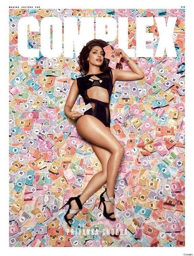 Priyanka Chopra Makes It Rain On The June/July Cover Of