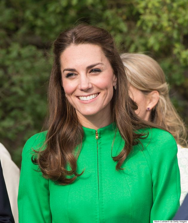 Kate Middleton Sports Sneakers And A Messy Bun Following A Charity Sailing