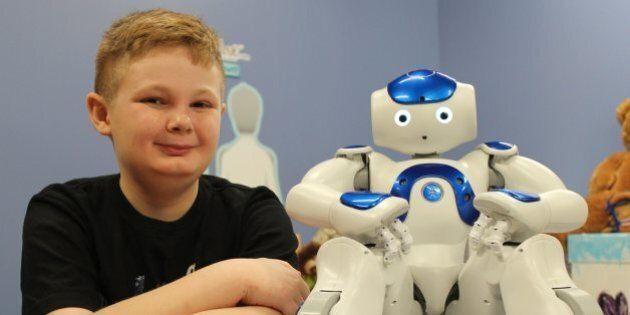 Alberta Children's Hospital To Use Robots To Calm Child