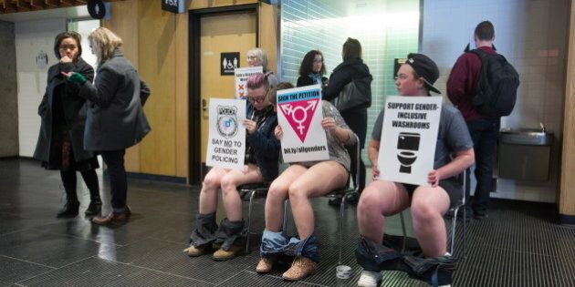 Transgender SFU Students Stage Protest To Demand More Gender-Inclusive