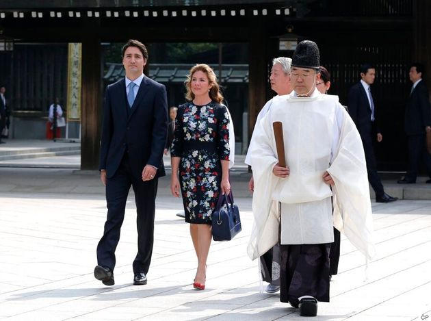 Sophie Grégoire Trudeau Continues Canadian Style Streak On Day 2 In