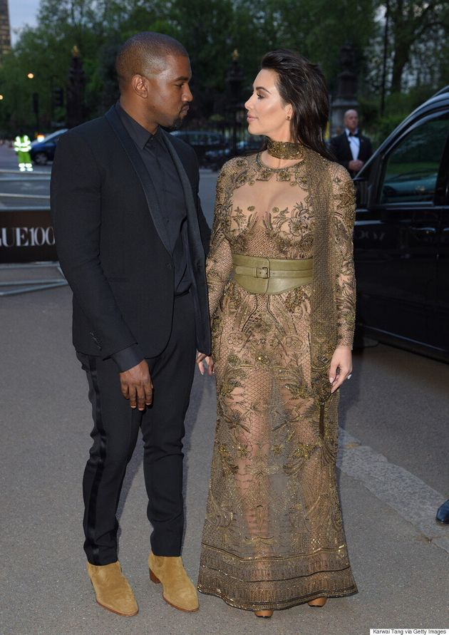 Kim Kardashian Dons Her Most Naked 'Naked' Dress Yet At Vogue 100