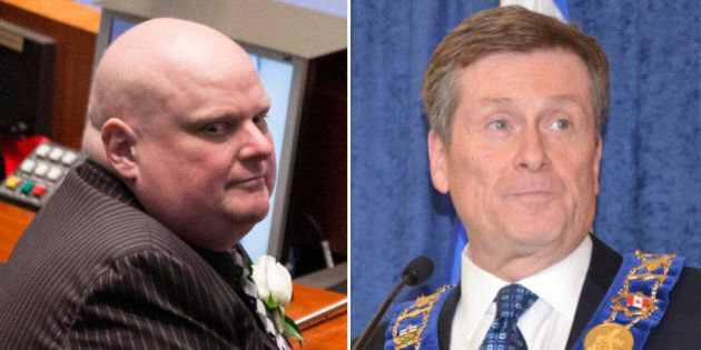 Rob Ford Says John Tory Has Made Some 'Ridiculous'