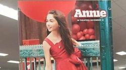 'Annie' Target Ads Criticized For Using White