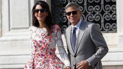LOOK: Newlyweds George And Amal Hit The Venice