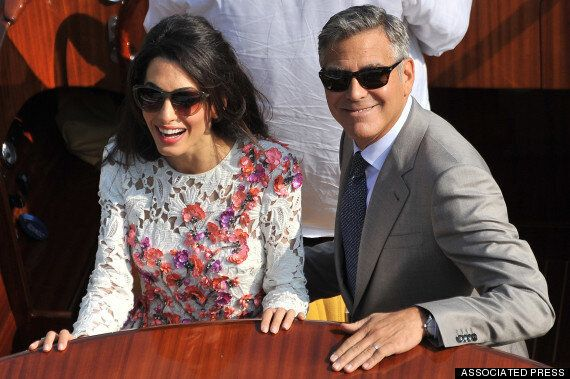 George Clooney, Amal Alamuddin Wow In Post-Wedding Appearance In