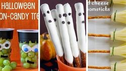Ridiculously Easy, Nut-Free Halloween Treats For Class