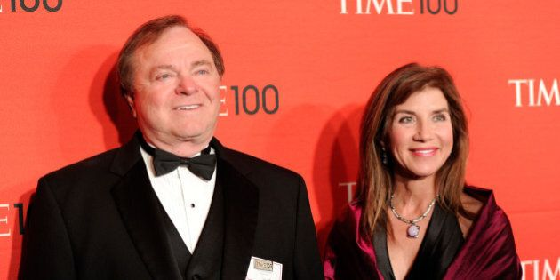 Continental Resources CEO Harold Hamm and his wife Sue Ann Hamm attend the TIME 100 gala, celebrating...