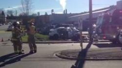 22-Year-Old Dies After 2-Car Crash Near