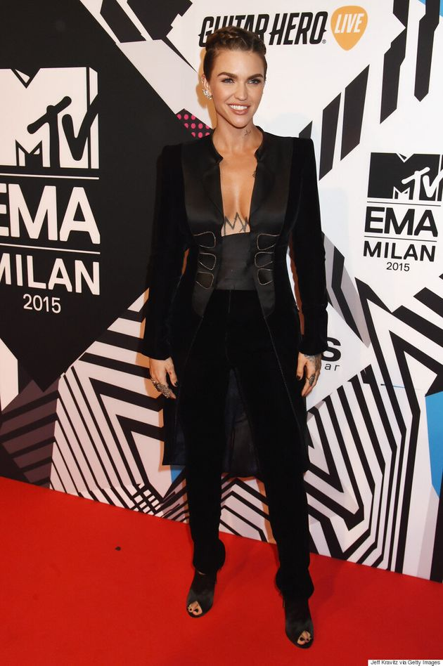 Ruby Rose Slays Every. Single. Outfit. At The 2015 MTV
