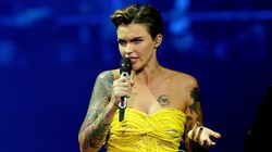 Ruby Rose Wore A Spaghetti Dress To The MTV