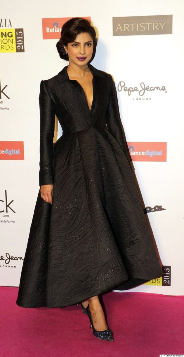 Priyanka Chopra Wears Ashi Studio Couture To Grazia Young Fashion