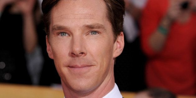 LOS ANGELES, CA - JANUARY 18:  Actor Benedict Cumberbatch attends the 20th Annual Screen Actors Guild Awards at The Shrine Auditorium on January 18, 2014 in Los Angeles, California.  (Photo by Steve Granitz/WireImage)