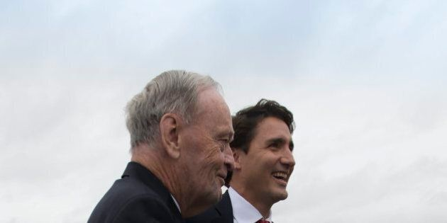 Jean Chretien Encourages Justin Trudeau To Engage International