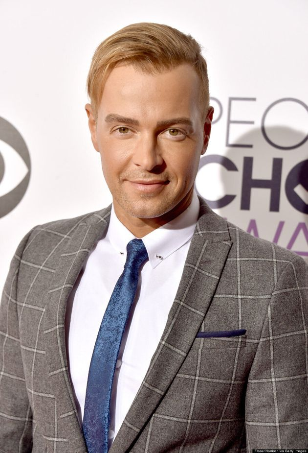 Joey Lawrence Sports A Blond Comb-Over At People's Choice
