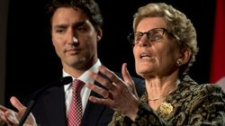 Wynne: First Conversation With Trudeau Will Be About