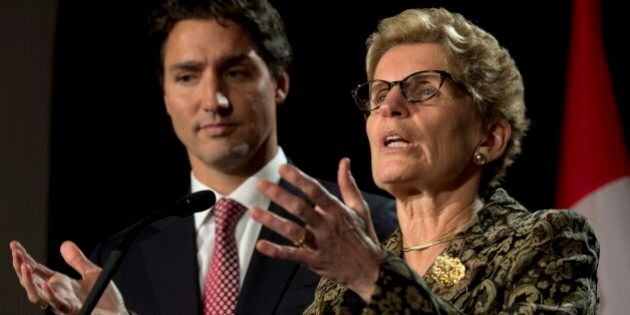 Kathleen Wynne: First Conversation With Justin Trudeau Will Be About