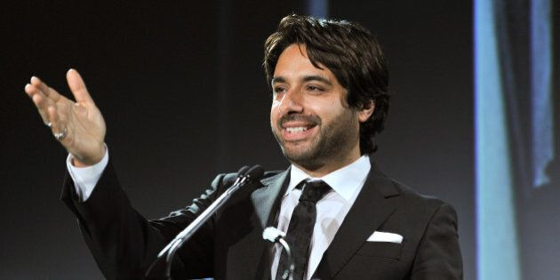 TORONTO, ON - SEPTEMBER 26:  Jian Ghomeshi attends the Statford Shakespeare Festival tribute for Christopher Plummer as he receives the 'Stratfod Shakespeare Festival Lifetime Achievement Award' at the Four Seasons Hotel on September 26, 2011 in Toronto, Canada.  (Photo by George Pimentel/WireImage)