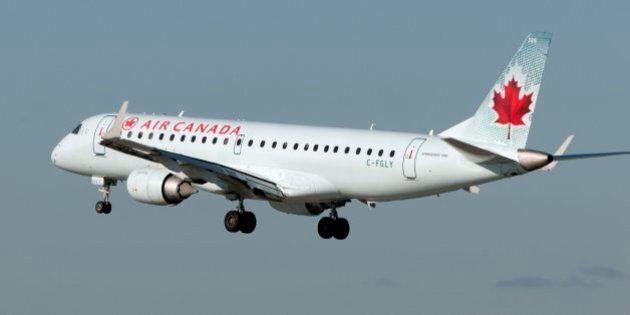 Air Canada Plane Makes Emergency Landing In