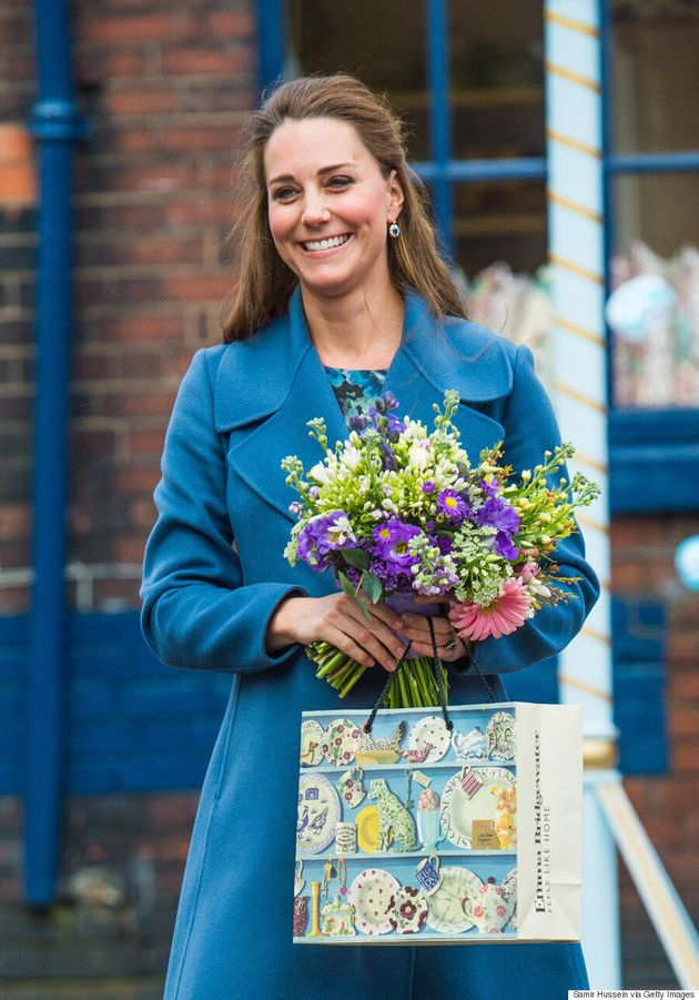 Kate Middleton Glows In The Perfect Blue Winter