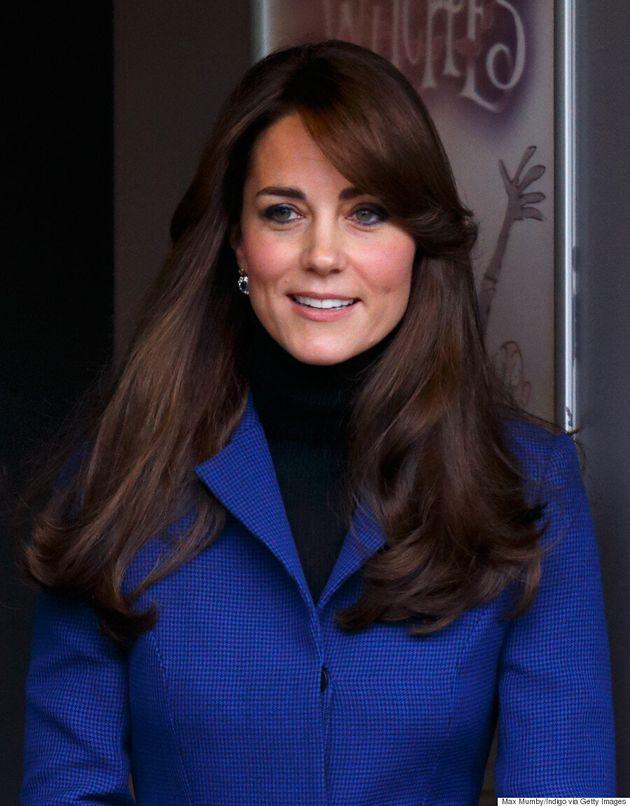 Kate Middleton Looks Regal And Elegant In Christopher Kane