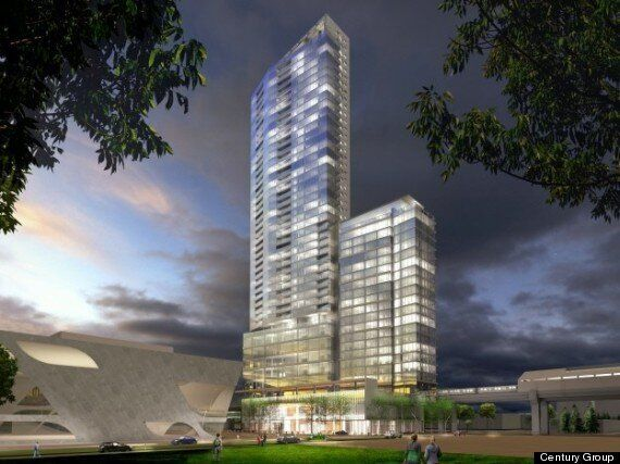 Surrey's 3 Civic Plaza Will Be A Tall Drink Of