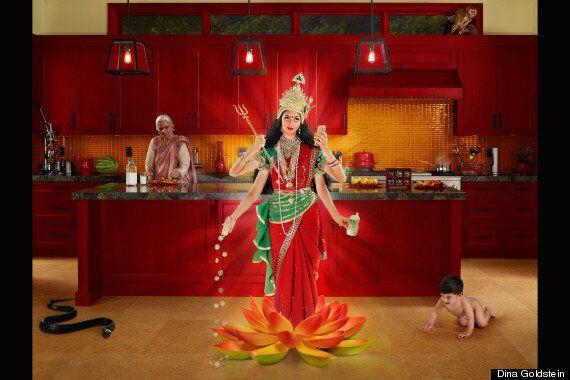 Dina Goldstein's 'Gods Of Suburbia' Criticized By Hindu