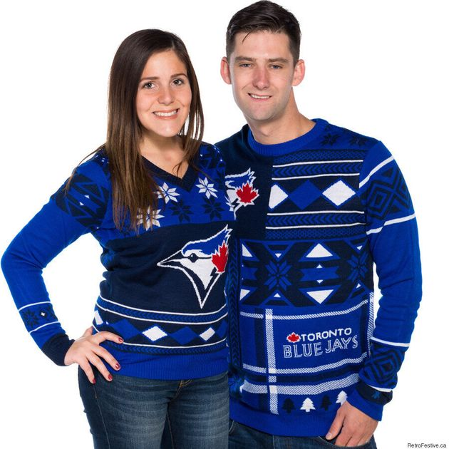 Blue Jays Ugly Christmas Sweaters Are