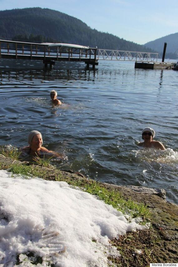 Winter Swimming Is Good For Body And Soul: B.C. Swimmer