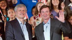 Gretzky: I Did Harper 'A