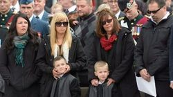 Nathan Cirillo's Son Attends One-Year Memorial In