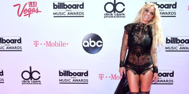 LAS VEGAS, NV - MAY 22: Singer Britney Spears attends the 2016 Billboard Music Awards at T-Mobile Arena...