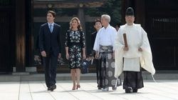 Trudeau Arrives In Japan To Talk Canada's Role As 'Atlantic