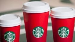 Starbucks' Red Cups For The Holidays