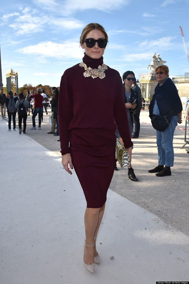 Olivia Palermo Proves You Can Makes A Turtleneck