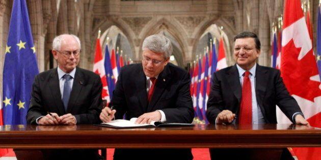 Canada-EU Trade Deal: Harper, EU Leaders Say It's