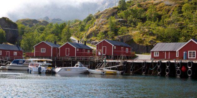 nusfjord villa norway july...
