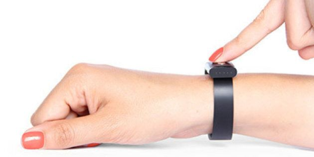 RBC Tests Nymi Wristband, In Hopes You'll Tap Your Wrist To